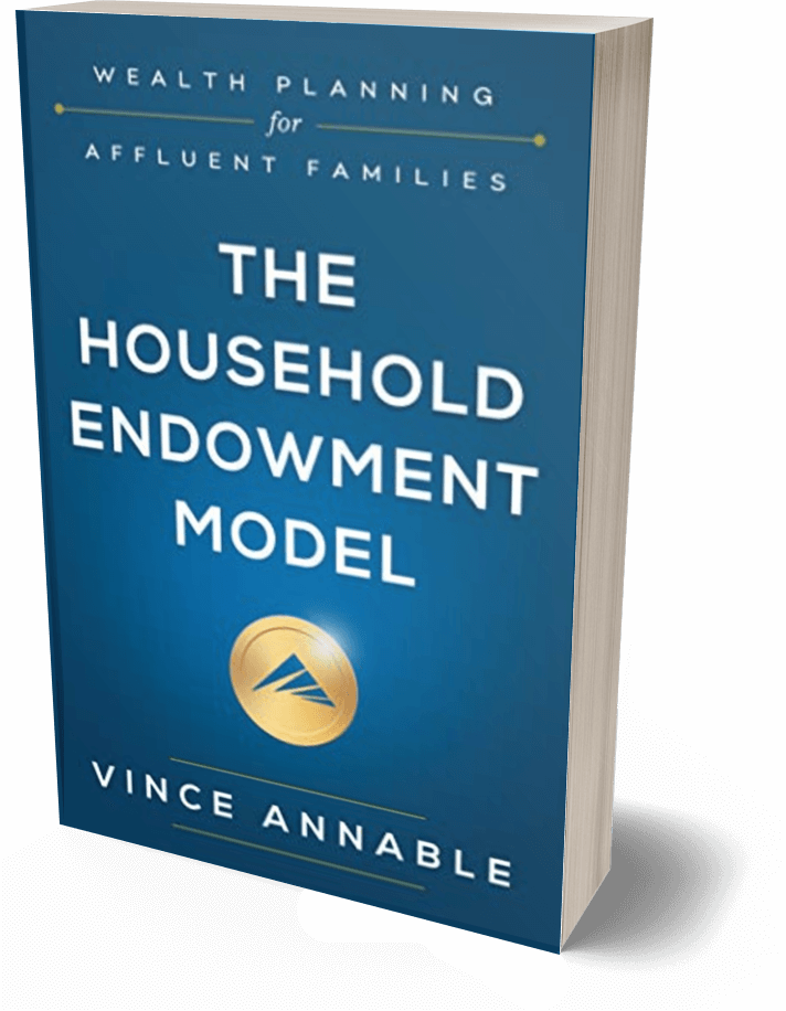 side angle of The Household Endowment Model book